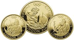 Olympic coins 2012 - London