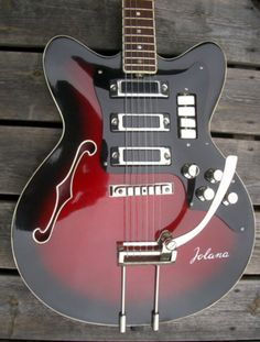 Vintage 1970's Jolana Special Electric Guitar - Cant get enough!!!!!!!!!!