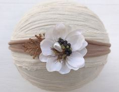 Tan tieback headbandTan tiebackPhoto by DESERTROSECOUTURE on Etsy