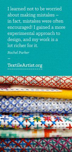 Rachel Parker interview: An experimental approach