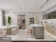 Pearl interior on Behance Apartment Interior, Apartment Design, Picture Design, All Design, Pearls, Kitchen, Table, Behance, Furniture