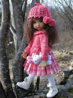"""Raspberry Sorbet BY Tuula Fits Dianna Effner 13"""" Little Darling TO A """"T""""   eBay"""