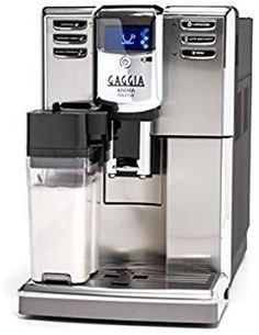 Gaggia Anima Prestige Automatic Coffee Machine, Super Automatic Frothing for Latte, Macchiato, Cappuccino and Espresso Drinks with Programmable Options. ** Click on the image for additional details. We are a participant in the Amazon Services LLC Associates Program, an affiliate advertising program designed to provide a means for us to earn fees by linking to Amazon.com and affiliated sites.
