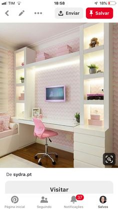 72 Awesome Teen Girl Bedroom Ideas That Are Fun and Cool Interior Design Girls Bedroom Ideas Awesome Bedroom Cool design Fun Girl Ideas Interior Teen Small Teenage Bedroom, Teen Girl Bedrooms, Teen Bedroom, Bedroom Decor Ideas For Teen Girls, Teen Girl Decor, Girl Rooms, Room Interior, Interior Design, Girl Bedroom Designs
