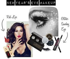 """New Year's Eve Makeup"" by tora-gabriel on Polyvore"