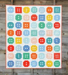 Button Up Quilt Pattern by Cluck Cluck Sew, of course!