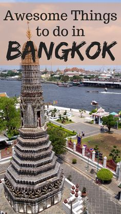 We have put a list together for you of the best things to do in Bangkok. Bangkok is a happening place and there is so much to see and do. Don't miss this city off your list of places to visit in Thailand. Happy planning and enjoy our list of places to vis Thailand Travel Tips, Bangkok Travel, Visit Thailand, Asia Travel, Koh Phangan, Pattaya, Chiang Mai, Stuff To Do, Travel Tips