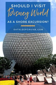 A look at the pros and cons of going to Disney World as a shore excursion. If your cruise stops in Port Canaveral, this post is for you! Disney World sounds like a lot of fun but does it make sense as a day trip shore excursion from your cruise ship? How do you get to Disney World from the port? Consider these important things before you decide if Disney is right for your shore excursion. Disney World is huge and there are a few factors before you can decide if it's financially worth it! Cruise Excursions, Shore Excursions, Cruise Vacation, Sounds Like, Day Trip, Alaska, Caribbean, Ship, World