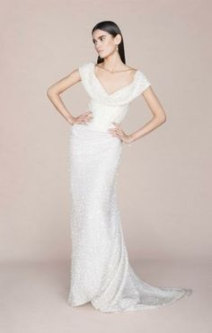 Vivienne Westwood Wedding Dress Draping Sparkles & Curve Defining <3