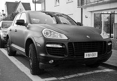 Porsche Cayenne Turbo Black Matte...