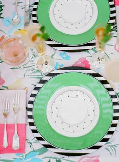 A Kate Spade Garden Party! #stylish #entertain