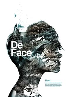 Poster | De Face Published by Maan Ali