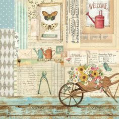 Decoupage Vintage, Papel Vintage, Vintage Tags, Vintage Paper, Background Vintage, Paper Background, Papel Scrapbook, Scrapbooking, Chic Wallpaper