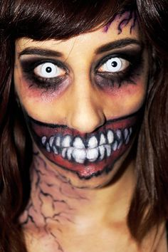 Pin for Later: 101 Real-Girl Halloween Costumes That Are Terrifyingly Gorgeous Ghoulish Gaze