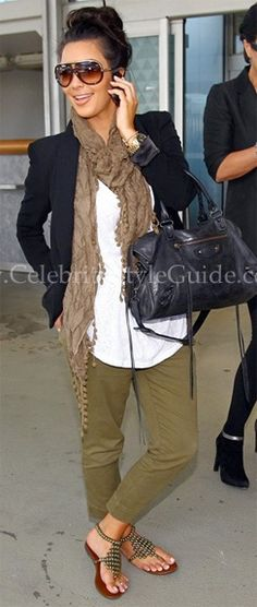 Seen on Celebrity Style Guide: Arriving at JFK airport in New York, June 30, 2010