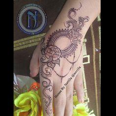 simple henna done by novi3a #henna #simplehenna #rosse #hennagorontalo #hennaindonesia