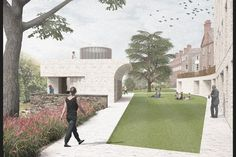 The AJ can exclusively reveal the concepts by the finalists in the contest to design a new riverside block for St Hilda's College at Oxford University Education Architecture, Architecture Details, College Image, Architects Journal, On The Issues, Beautiful Sites, Sustainable Development, Saints, Oxford