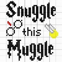 Snuggle this Muggle blanket