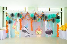 Nathan's Party Animals Themed Party – Birthday What Is Great, Animal Party, Party Animals, Fun Party Themes, Lets Celebrate, Cute Animals, Birthday, Creative, Kids