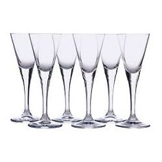 IKEA - SVALKA, Snaps glass, The glass has a small bowl on a stem which keeps the liquor cold, enhancing your experience of the drink.
