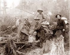 Gold Rush-1897- Yukon Gold Rush also known as: Klondike   Gold Rush