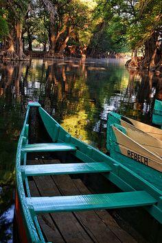 Camecuaro Lake, Mexico