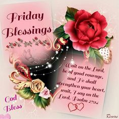 297 Best Friday Blessings Images Good Morning Quotes Blessed