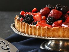 Berry Mascarpone Tart by I'll Have What She's Having