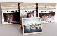 DIY Wedding Anniversary gift: songs from the year they got married (great idea for my parents)