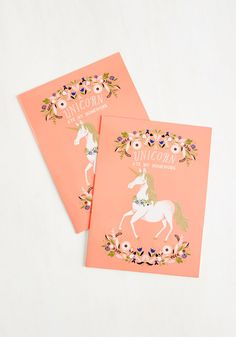 The Neighs Have It Folder Set, #ModCloth