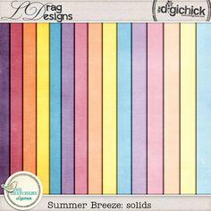 Summer Breeze: Solids by LDrag Designs