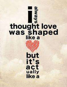 love <3 it's shaped like a cross! Lamanin :)