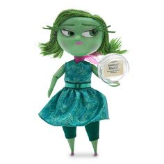 Disgust Deluxe Talking Doll - Inside Out - 9 1/2''