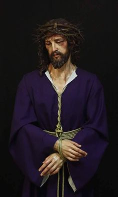 Lord Jesus Christ, Son of God, have mercy on me, a sinner. Sculpture by Fernando Aguado