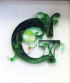 『文字遊び』 緑