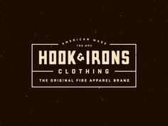 Hook & Irons Clothing by Steve Wolf.