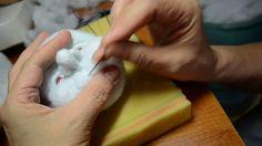 мастер класс по изготовлению скульптурной -текстильной куклы ч.4