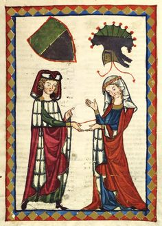 Codex Manesse - 14th C.