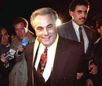 1990 - Notorious leader of the Gambino crime family John Gotti is arrested and charged with racketeering, murder and a host of other criminal activities.