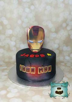 Photos ENFANTS | Gâteaux Magik iron man cake gateau
