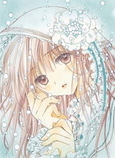 "Art from ""Kobato"" series by manga artist group CLAMP."
