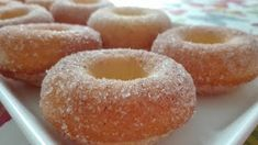 Helkan Keittiössä: Gluteenittomat Uunidonitsit Doughnut, Desserts, Food, Tailgate Desserts, Deserts, Essen, Postres, Meals, Dessert