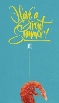 Have a Great Summer! #lettering #calligraphy #typography