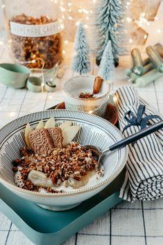 Rezept Apfel-Spekulatius Granola - weihnachtliches Knuspermüsli selbermachen