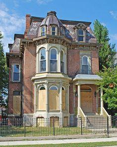 detroit abandoned homes - Google Search
