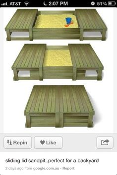 Sand box - use pallets?