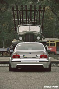 BMW E39 Stanced & Wide!