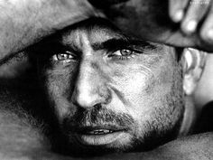 Title Mel Gibson Hollywood Work Date 1985 Medium silver gelatin print by Herb Ritts Photography *Printed as a limited edition Black And White Google, Herb Ritts, Beautiful Men, Beautiful People, Gorgeous Guys, Celebrity Gallery, Black And White Portraits, Mans World, Interesting Faces
