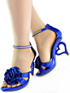 Blue ombre low heels blue pumps something three colors ombre blue ...