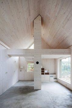 Peek Inside This Chicken Coop Turned Minimalist Artist Studio | Apartment Therapy